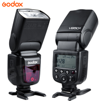 Godox V850 GN58 Camera Speedlite Flash Light W Rechargeable Lithium Ion Battery For Nikon Canon Olympus