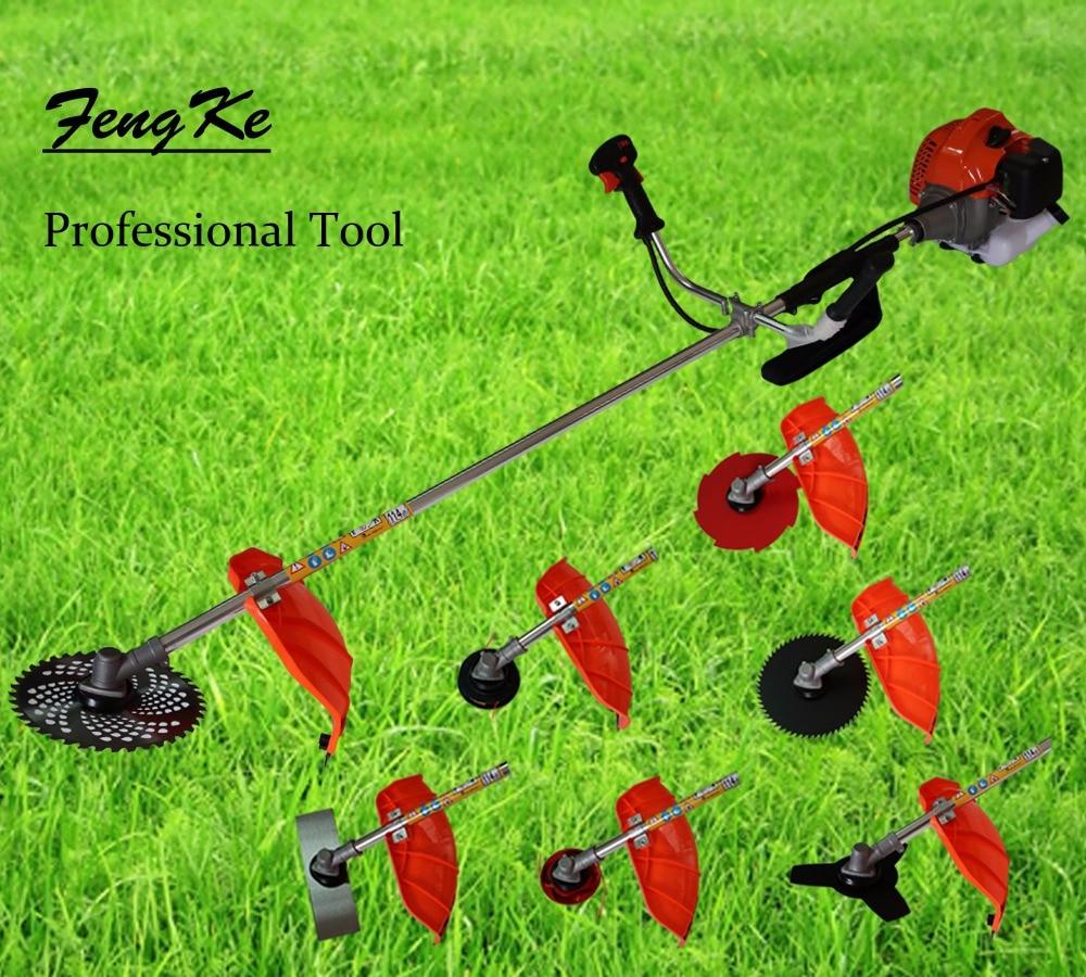 BrushBush Professional 52cc Heavy Duty 5 in1 Petrol Strimmer Grass Trimmer