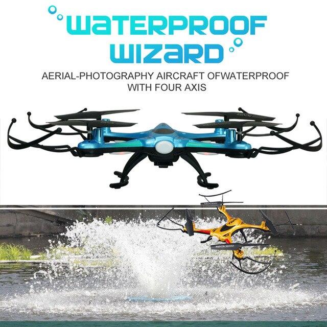 F101 FZW RC Drone Водонепроницаемый Сопротивление Quadcopter Вертолет с Камерой Не или летательный аппарат с HD Камерой или Дронов с wifi FPV камера