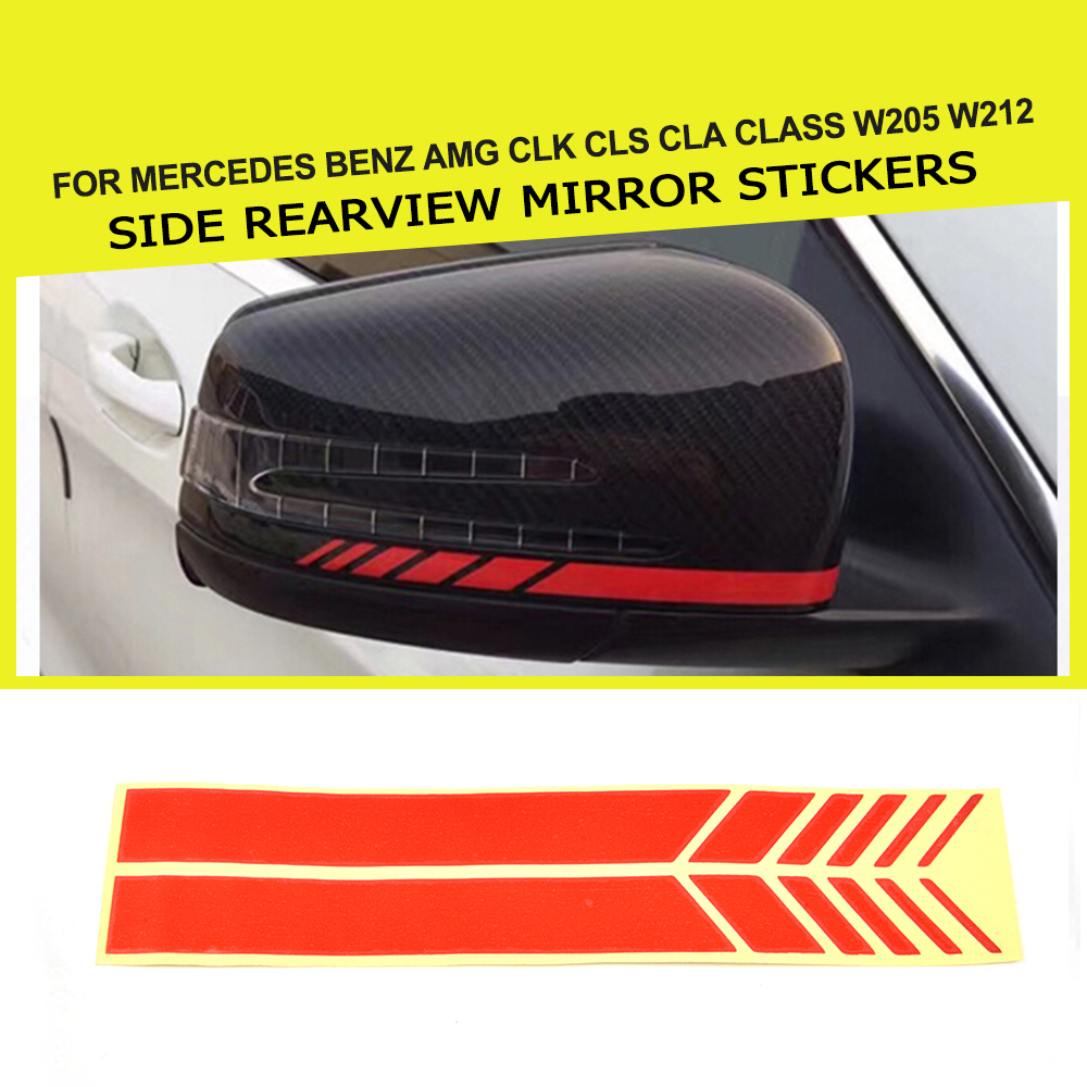 2pcs Car Rearview Mirror Waterproof And Anti-fog Film For Ercedes Benz A200 A180 B180 B200 Cla Gla Amg A B C E S Class Cls Glk Car Tax Disc Holders Automobiles & Motorcycles