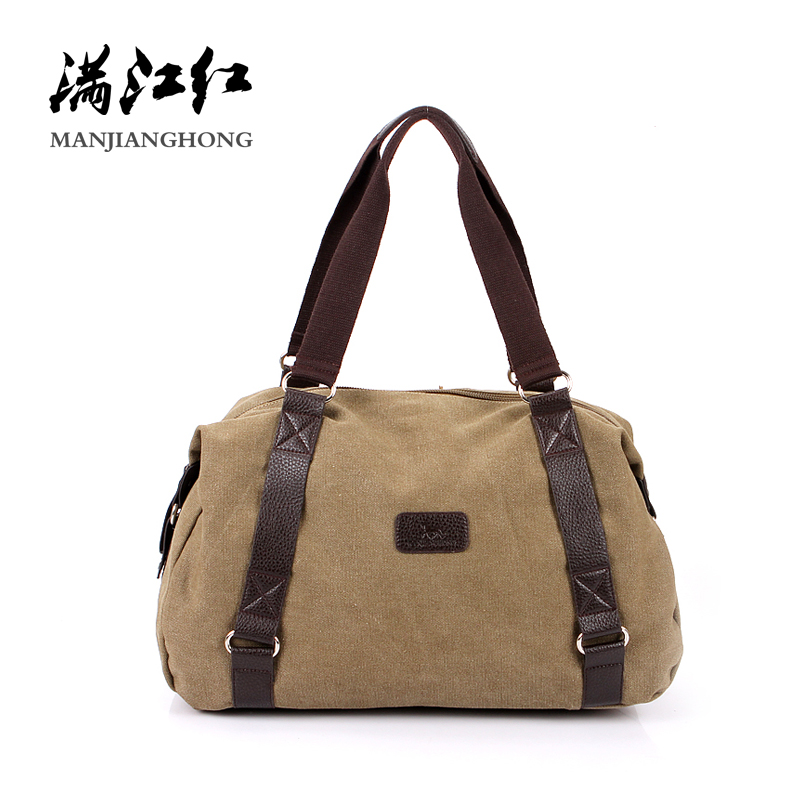 Large Capacity Casual Men Shoulder Bag Canvas Vintage Retro Crossbody Messenger Bag Men Male Leisure Tote Travel Bag Men 1064 kujing canvas men s bag high quality cowboy large capacity travel men handbag retro shoulder messenger bag luxury men casual bag