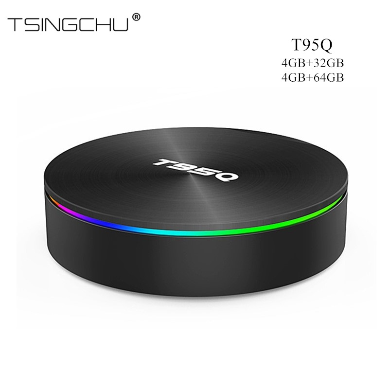 TSINGO T95Q Android 8 1 TV BOX 4GB 64GB LPDDR4 Amlogic S905X2 Quad Core 2 4G