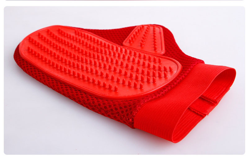 Hot Pet Grooming Products Rubber Dog Cleaning Massage Glove Remove Loose Hair Comb Brush For Dogs Cats Large Dog Supplies 106.53