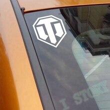 Бесплатная доставка 2 шт./компл. world of tanks наклейки для автомобиля, world of tanks логотип виниловая наклейка