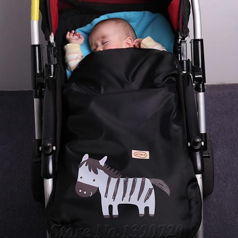 Cute Animal Printed Outdoor Sleeping Bag For Spring Autumn Winter Baby Stroller Infant Pushchair Warm Foot In Sleepsacks From Mother Kids