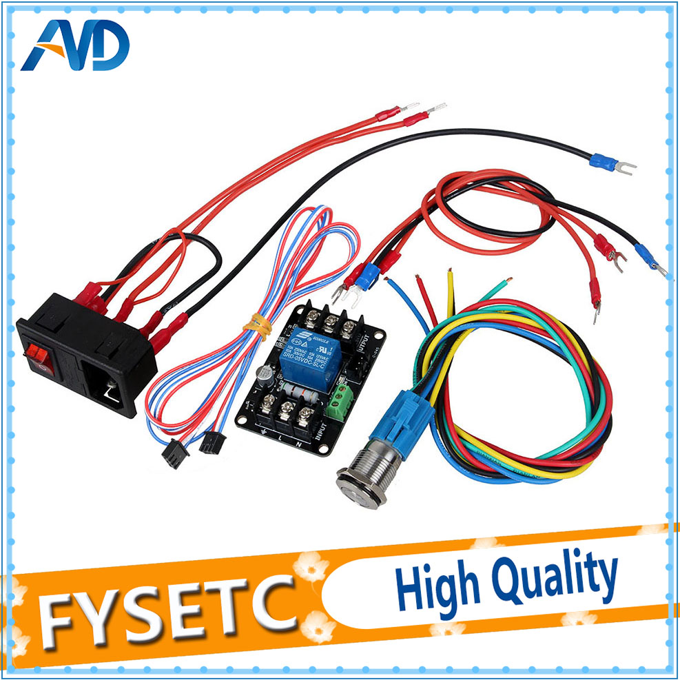 Power-Off Continued to Play Module Power Monitoring Module Automatically Put off For Lerdge Motherboard 3D Printer Parts 0957 2157 power module for printer parts used