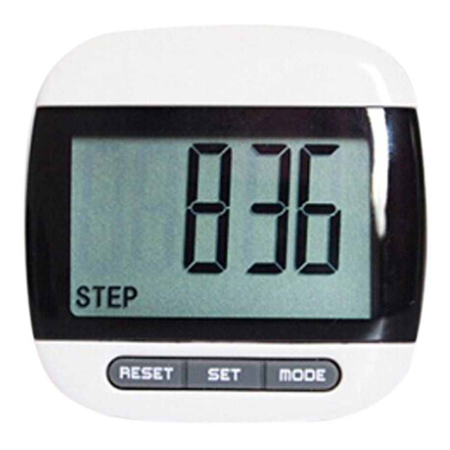 ELOS-Multifunction LCD Pedometer Walking, Step, Distance, Calorie Calculation Counter -Black