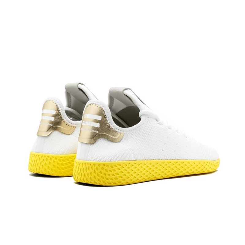 reputable site b16a6 e0f48 ADIDAS Pharrell Williams Tennis Hu Mens And Womens Running Shoes Mesh  Breathable Comfortable Sneakers For Women ...