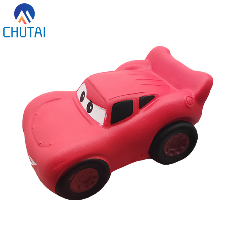 2019 New Kawaii Cartoon Cars Squishy Simulation Soft Slow Rising Squishies Cake Scented Stress Relief Squeeze Toys 12x6.5 CM