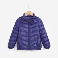 MUQGEW New Fashion Baby Girls Boys Kids Hot Sale Clothes Loog Sleeve Solid Down Jacket Coat