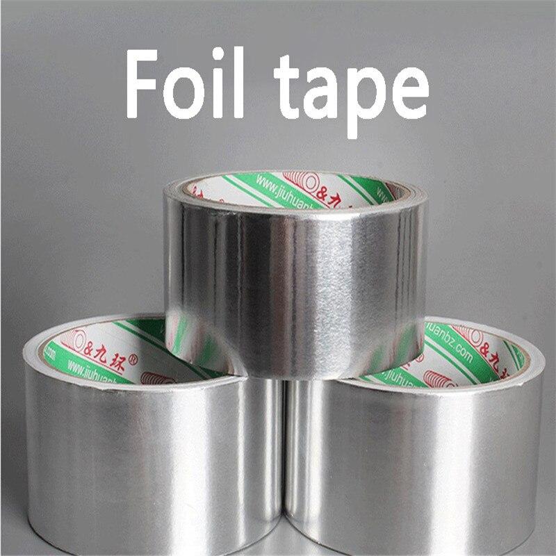 Aluminium Foil Adhesive Sealing Tape Thermal Resist Duct Repairs High Temperature Resistant Foil Adhesive Tape