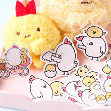 45PCS/PACK Kawaii Cute Chick Egg Sticker Marker Diary DIY Decorate School Stationery Stickers Scrapbooking Bullet Journal sl1602