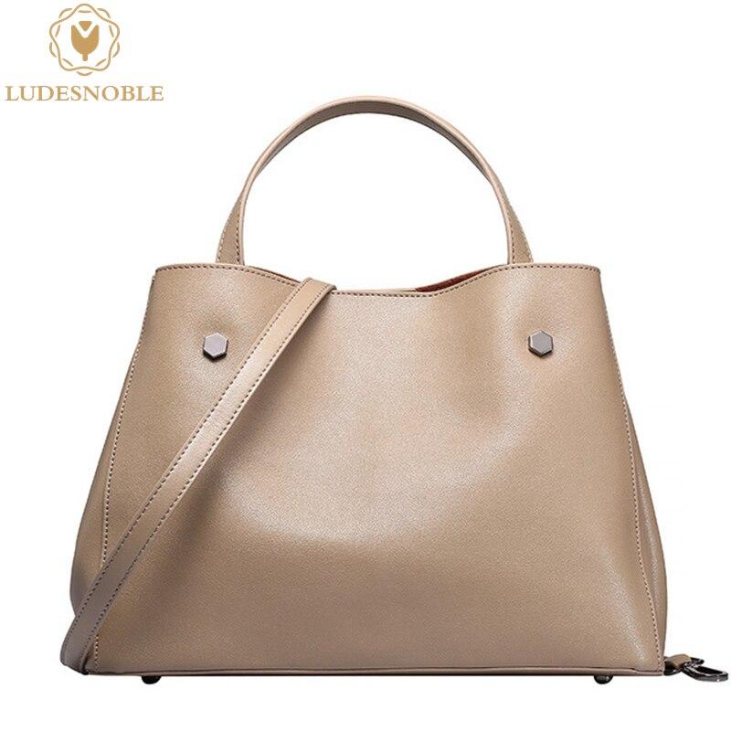 Ludesnoble nuevos bolsos del bolso de las señoras bolsos de mano bolsos de cuero