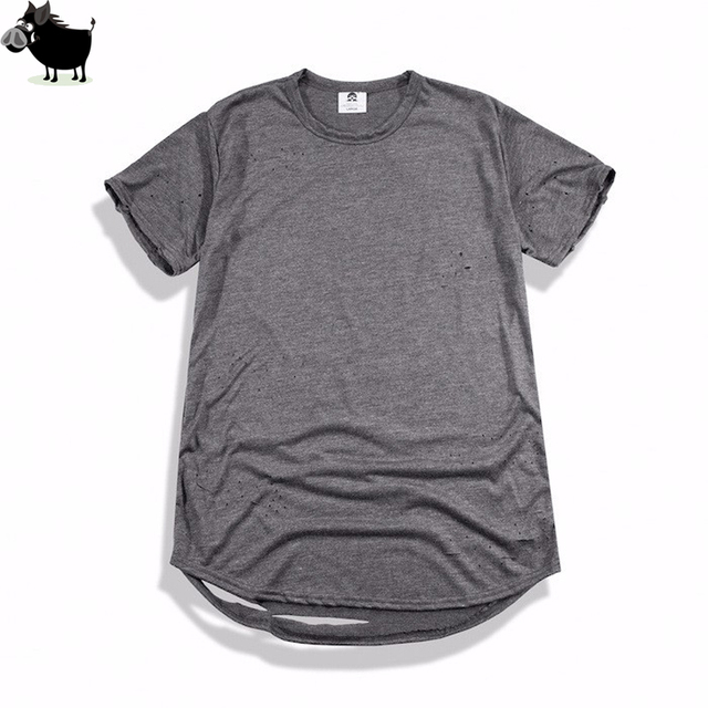 d6c6c5194 Man Si Tun Tyga extended t shirt tee Pyrex T shirt Straps Extra Long ...