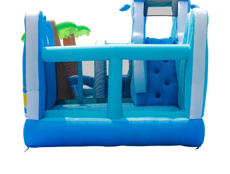 HTB1De9kPpXXXXbLaFXXq6xXFXXXf - Inflatable Bouncer Bounce House With Double Water Slide, Air Trampoline, and Mesh Swimming Pool