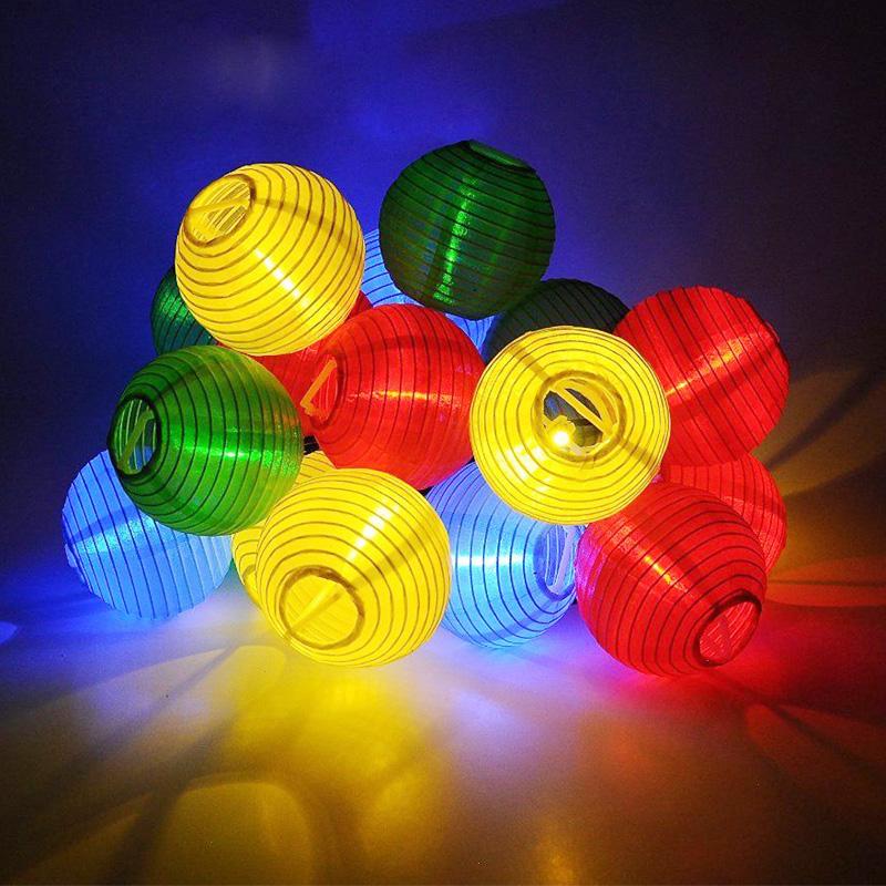 luminarias led de luces led panel solar luz de la secuencia linterna pared camino solar lmparas de jardn casa del rbol de nav
