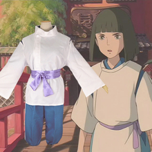 Classic Anime Spirited Away Nigihayami Kohakunushi Cosplay Costume Party Uniform