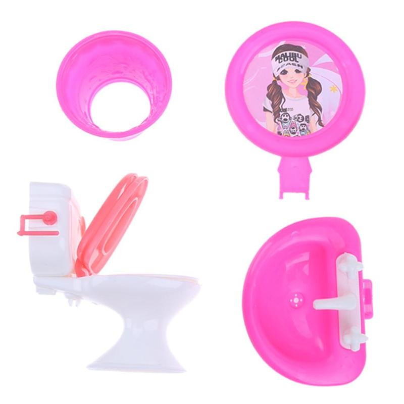 Kupit Kukly I Myagkie Igrushki 2pcs Bathroom Furniture Doll