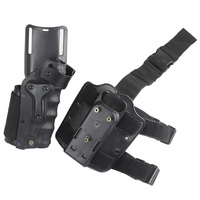 Tactical Hunting Pistol holster 3280 Style Thigh Leg Holster for G17 1911 Beretta M9 92 USP HiCapa 5.1