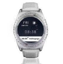 """ซิมการ์ดTF S Mart W Atch 1.2 """"หน้าจอสัมผัสบลูทูธ3.0 Heart Rate MonitorตรวจสอบอุณหภูมิPedometer PSGโทรศัพท์นาฬิกาสมาร์ท"""