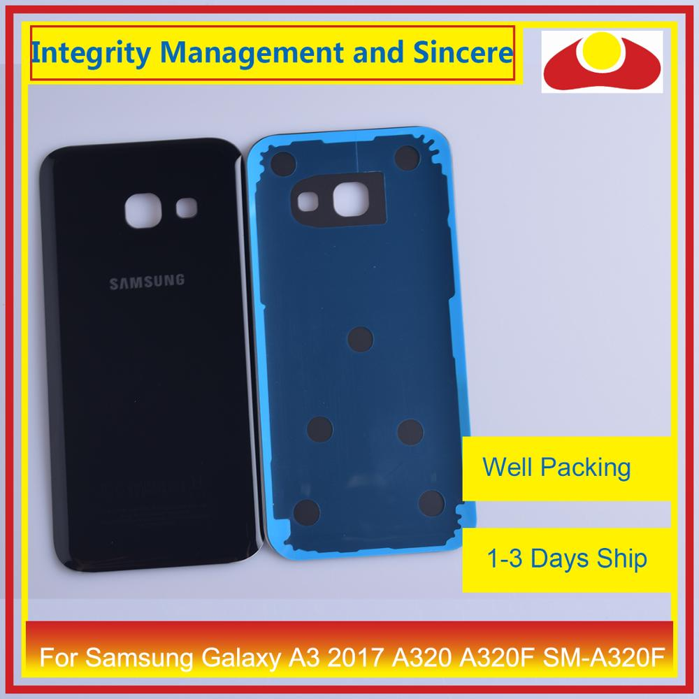Image 3 - Original For Samsung Galaxy A3 2017 A320 A320F SM A320F Housing Battery Door Rear Back Cover Case Chassis Shell-in Mobile Phone Housings & Frames from Cellphones & Telecommunications