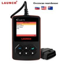 Launch X431 Creader V+ OBD2 сканер автомобильный код считыватель сканирующие инструменты PK CR419 ELM327 сканер многоязычный OBD Автомобильный диагностический инструмент