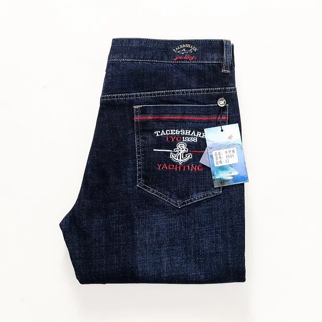item image  denims males 2018 males denims winter denims Tace&shark Model billionaire top quality males's denims Thick material embroidery males denims HTB1DeB1vSBYBeNjy0Feq6znmFXaU
