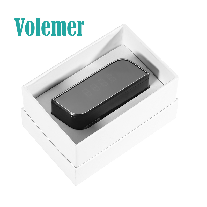 Volemer Table Clock Camera Wireless WIFI 1080P Night Vision Remotely Monitor Home Security monitoring DV DVR Camcorder Cam Z10