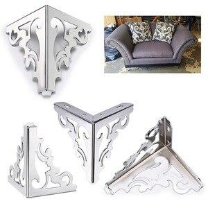 Image 5 - 4pcs Metal Furniture Legs Feet, Modern Sofa Cabinet Legs for Repair & Restoration of Dresser, Wardrobe, Tea Table, Worktop Shel