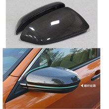 2pcs carbon fiber car rearview mirrors for honda civic 2016 car accessories auto replacement parts