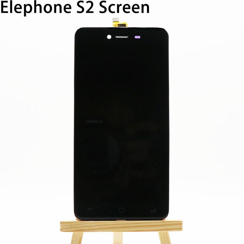 imágenes para Elephone S2 S2 y Pantalla LCD Nueva exhibición Original del lcd + Frame + Touch Panel Reemplazo Para Elephone S2 S2Plus código: FPC5045-14