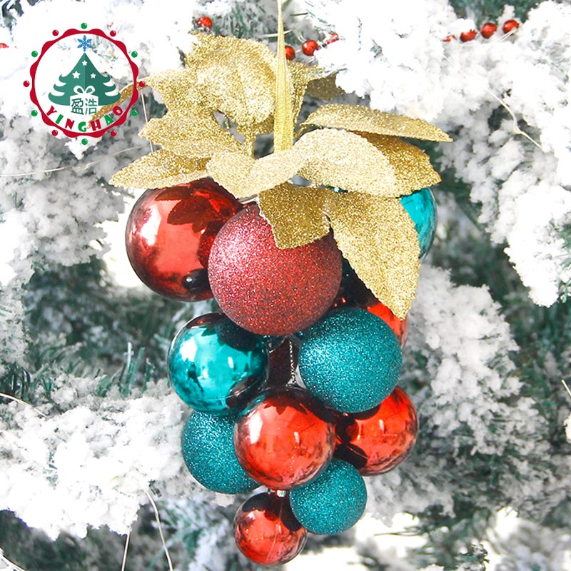Christmas Holiday Party Beads Long String Christmas Tree Hanging Decorations