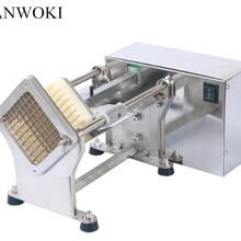 Электрические автоматические Свежие картофельные чипсы/фри резак