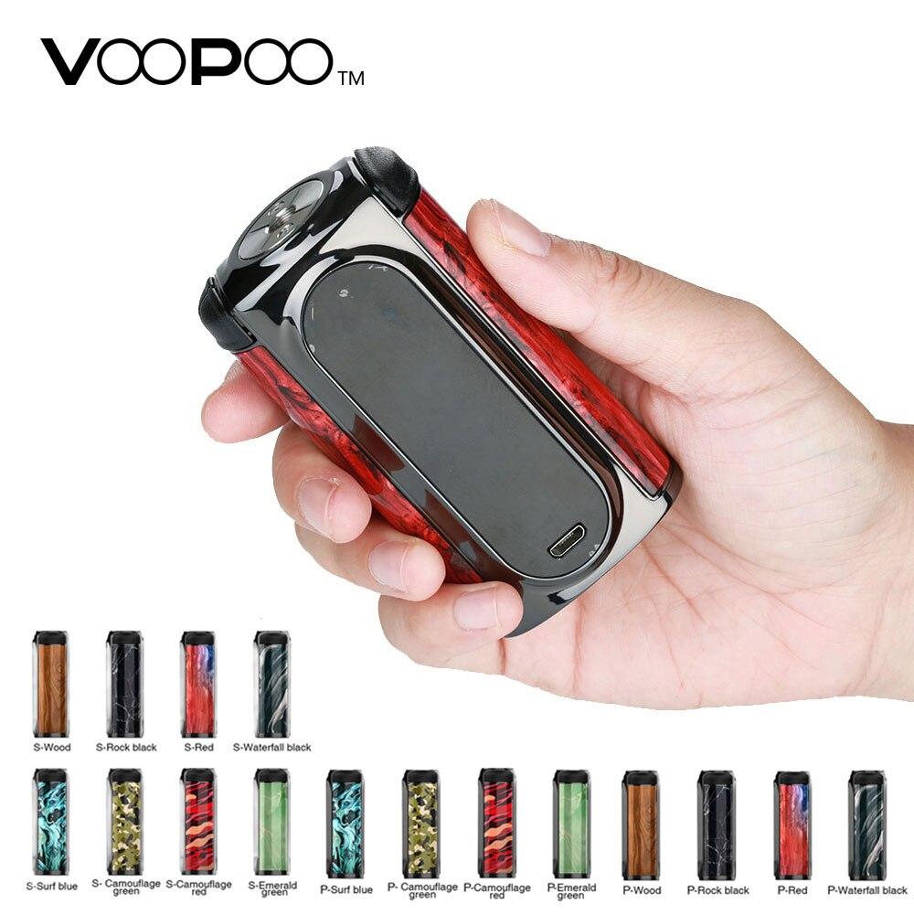 200 W VOOPOO Vmate TC boîte MOD No 18650 batterie avec puce mise à jour énorme vapotage de puissance pour RDA RTA atomiseur réservoir VS Voopoo glisser 2