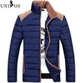 2016 Winter Men Casual Thick Cotton Padded Patchwork Coat Brand Clothing Masculina Invierno Camperas Hombre Asian Size Z2503