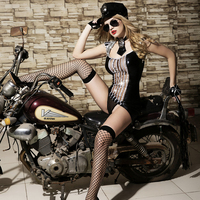 9607 2016 New Arrival Role Play Hot Sex Police Cosplay See Through Naked Costumes