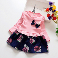 Fashion Floral Dress for Girls