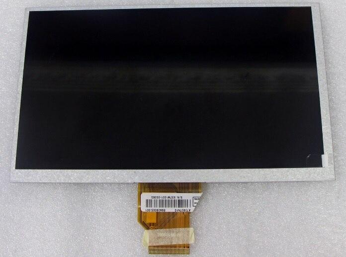 Latumab novo 9 polegada tela lcd painel de exibição para tablet pc gps mp4 mp5 at090tn10 20000938-00 frete grátis