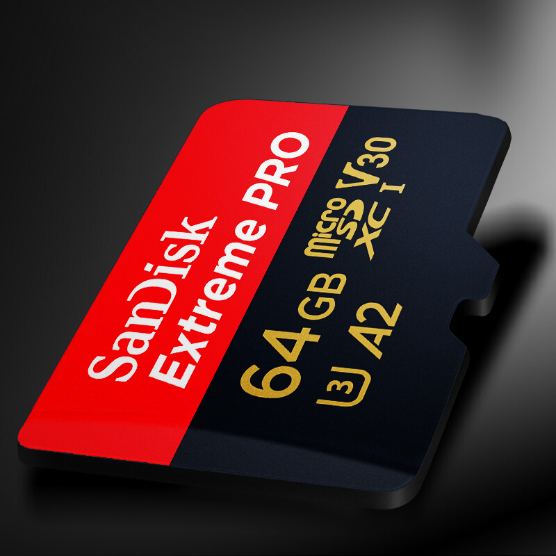 Image 4 - SanDisk Extreme PRO Micro SD Card Read Speed 170MB/s 128GB 64GB  U3 V30 A2  32GB A1 Memory Card SDXC Flash Card TF Card 4K UHD-in Micro SD Cards from Computer & Office