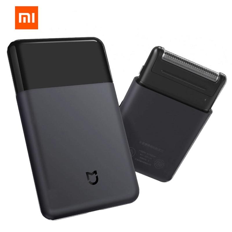 Xiaomi Mijia rasoir Portable électrique rasoir rasoirs sans fil USB Rechargeable japon acier hommes voyage noir xiaomi maison intelligente