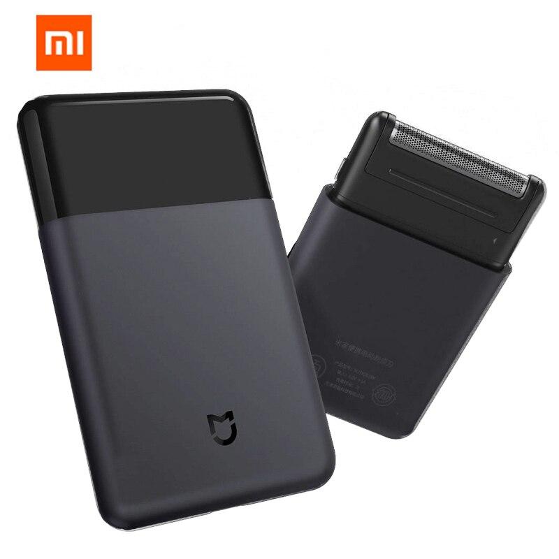 Xiaomi Mijia Rasoir Portable Rasoir Électrique Rasoirs Sans Fil USB Rechargeable Japon Acier Mens Voyage noir xiaomi smart home
