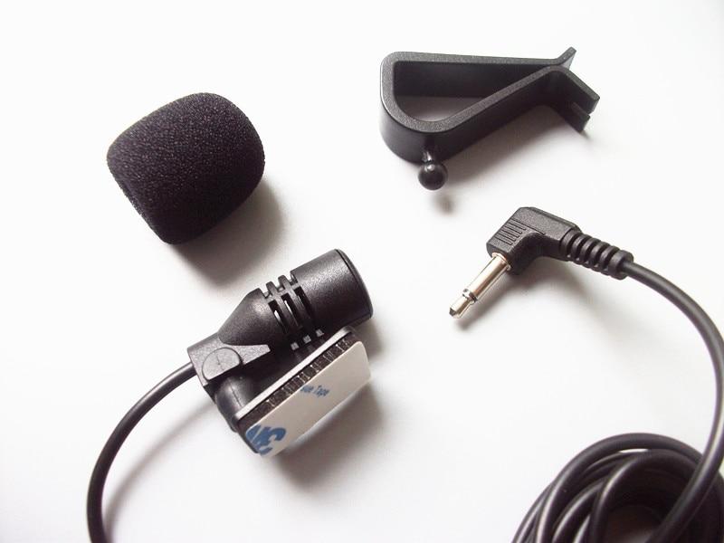 Linhuipad berwayar Mikrofon Kereta Luar untuk Pemain DVD Kereta GPS - Audio dan video mudah alih - Foto 2