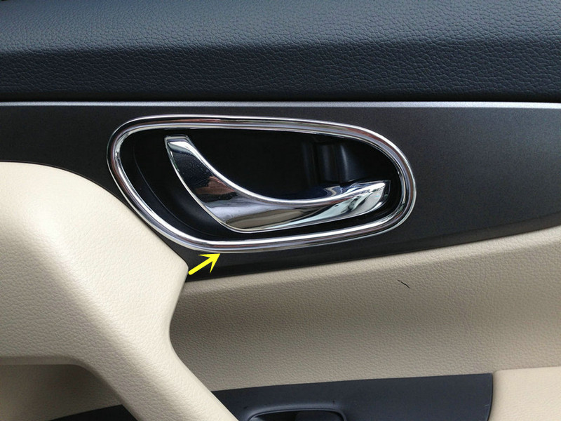 ✅Inner Inside Door Handle Cover For nissan Qashqai 2014 2015 - a230