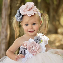 Elegant Flower Girl One Shoulder Dress for Girls Voile Tutu Kids Bridesmaid Ankle Length Party Set Baby Clothes