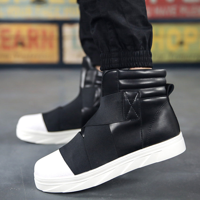2016 fashion brand Y3 men high top shoes platform wedges Comfortable ... 997abb2463a6