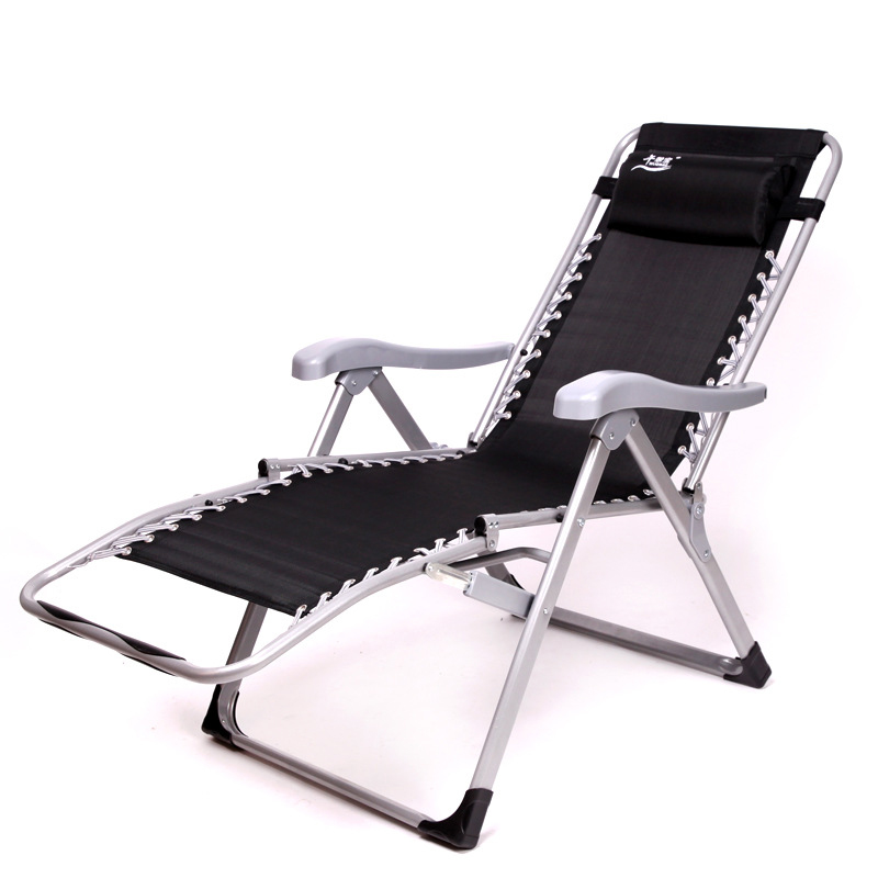 2017 new outdoor or indoor adjustable nap recliner chair folding deck chair beach chair with. Black Bedroom Furniture Sets. Home Design Ideas