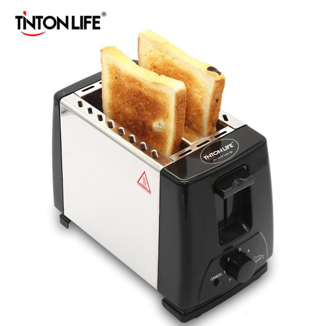 TINTON LIFE Household Bread Baking Machine  Kitchen Appliance Toaster For Breakfast
