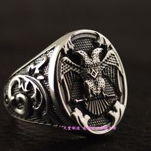 925 pure silver double slider thai silver ring