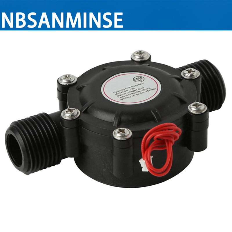 NBSANMINSE SMB-168 Three intersects DC5V Water flow generator High Quality 1PC For Water Flow Used for LED shower display