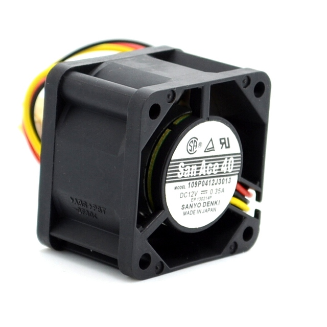 SANYO nuevo 109P0412J3013 4028 4CM 12V 0.35A ventilador de refrigeración de velocidad del viento 40*40*28mm